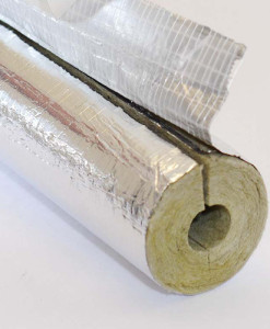 Rocklap Foil Face Pipe Insulation 1