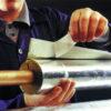 Rock-Lap Foil Face Pipe Insulation 1M Lengths